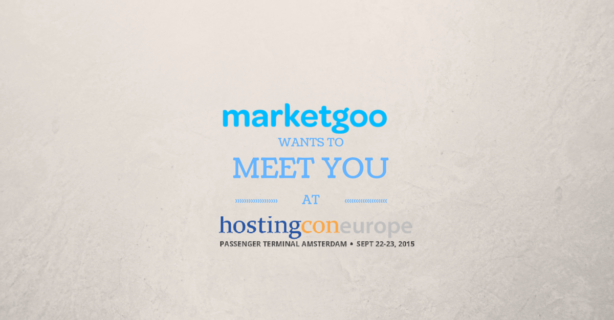 Meet Us at HostingCon Europe!