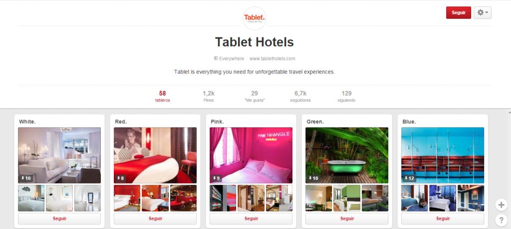 Pinterest para Hoteles