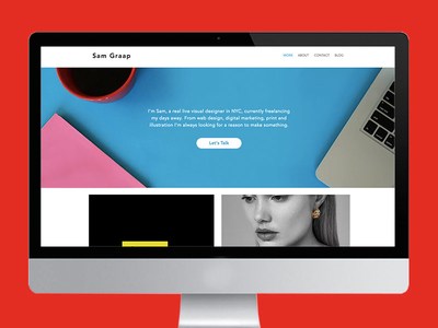 portfolio site by sam graap