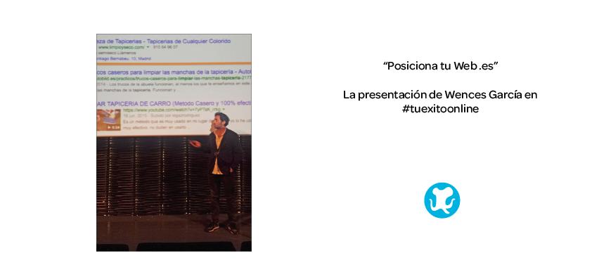 #TuExitoOnline: Posiciona tu tu Web .es
