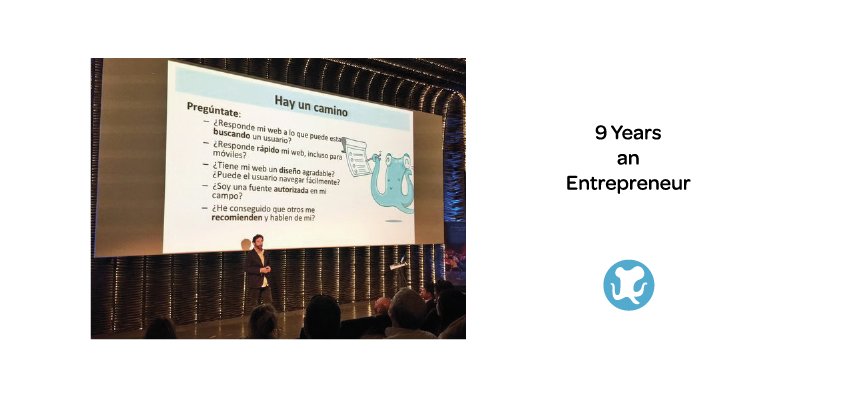 Nine years an Entrepreneur