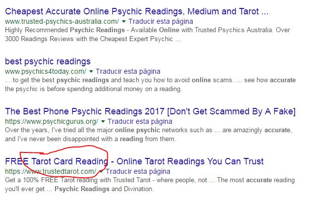 psychic seo