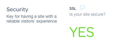do i have an SSL?