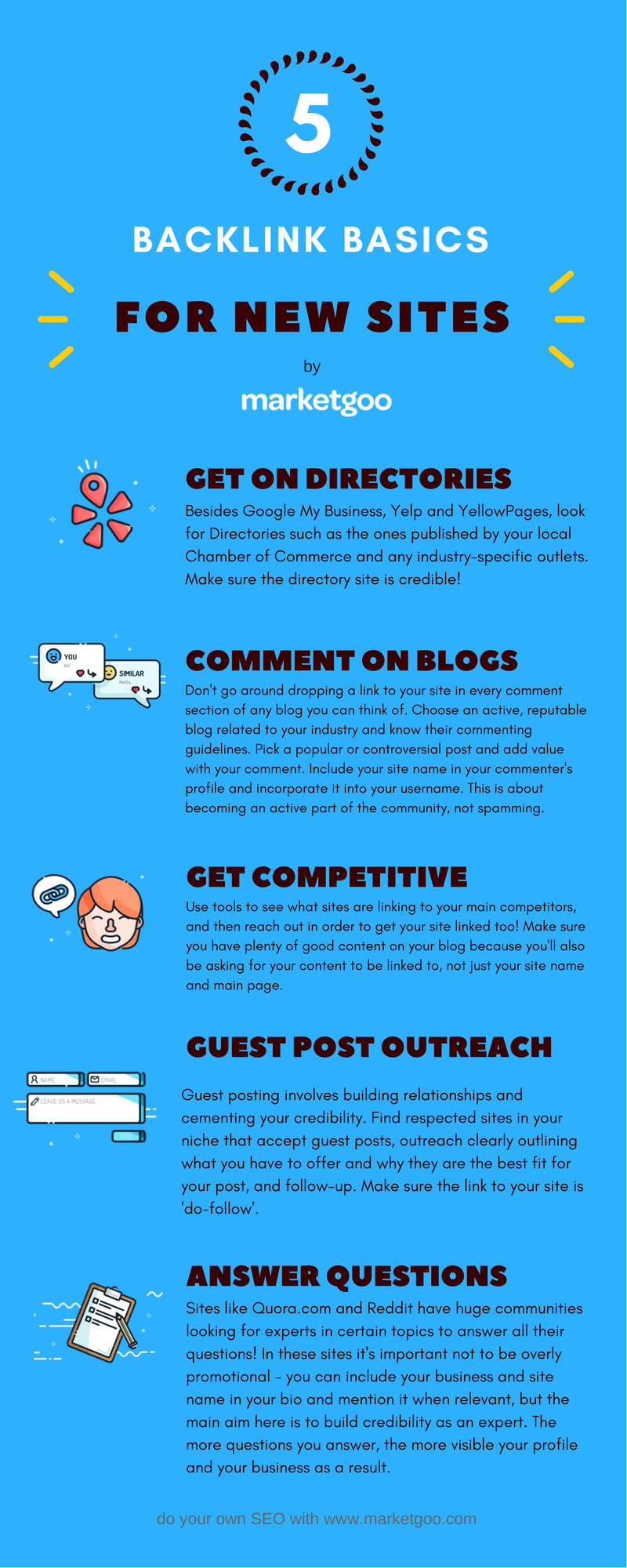 SEO Cheatsheet: Link-Building Tips for Beginners - marketgoo