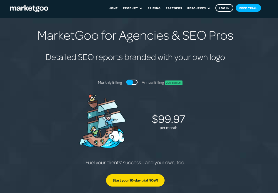 SEO white label agencies marketgoo