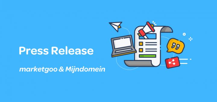 press release mijndomein marketgoo
